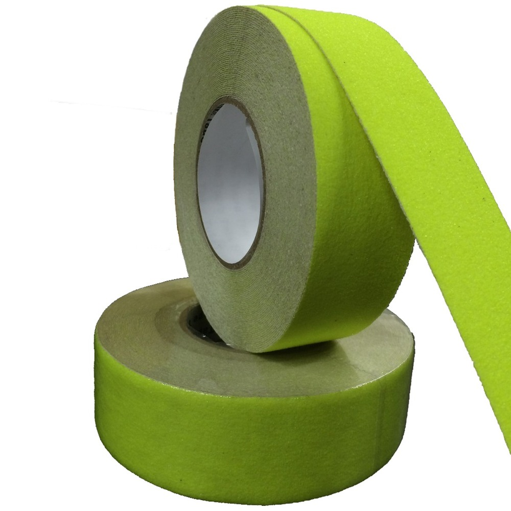 Fita de PVC Antiderrapante THR 50mm X 5m Verde Cítrico  - Casa do Roadie