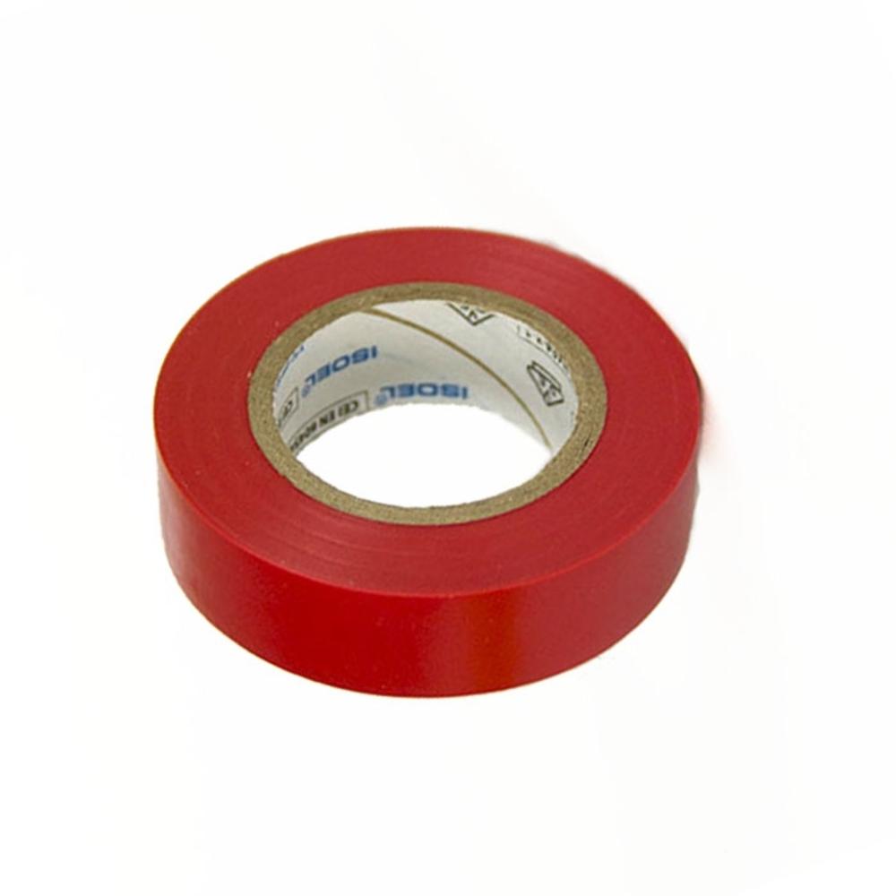 Fita de PVC Isolante ISOEL 15mm X 10m Vermelha