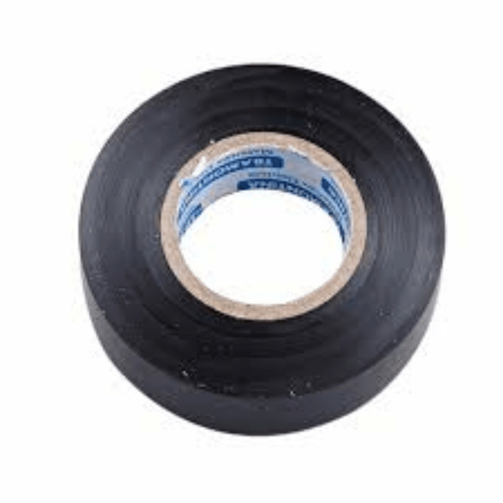 Fita de PVC Isolante Tectape 19mm X 20m Preta  - Casa do Roadie