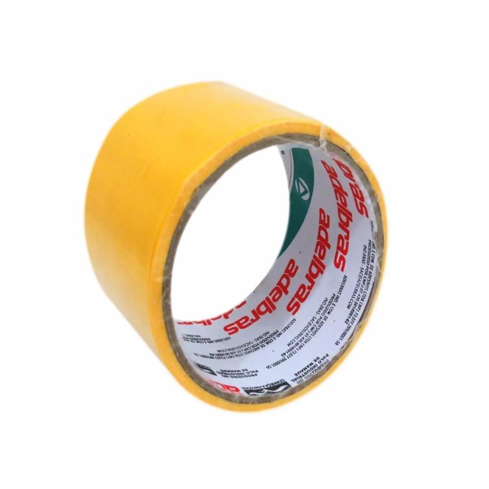 Fita de PVC Multiuso Silver Tape Adelbras 48mm X 5m Amarela