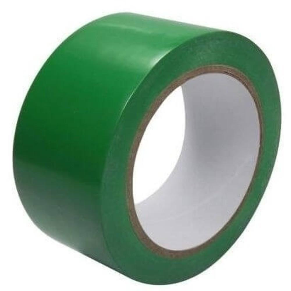 Fita de PVC para Demarcação de Solo Adelbras 48mm X 14m Verde  - Casa do Roadie
