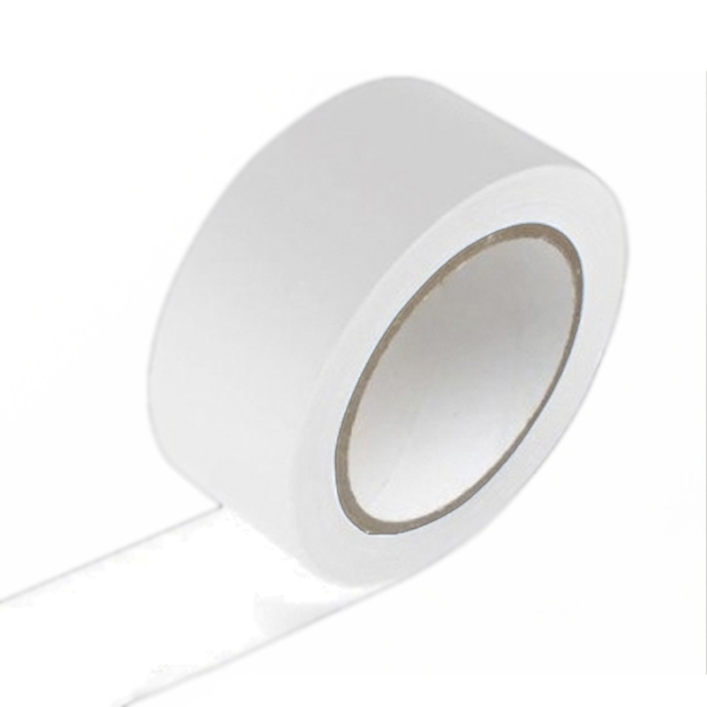Fita de PVC para Demarcação de Solo Adere 48mm X 15m Branca  - Casa do Roadie