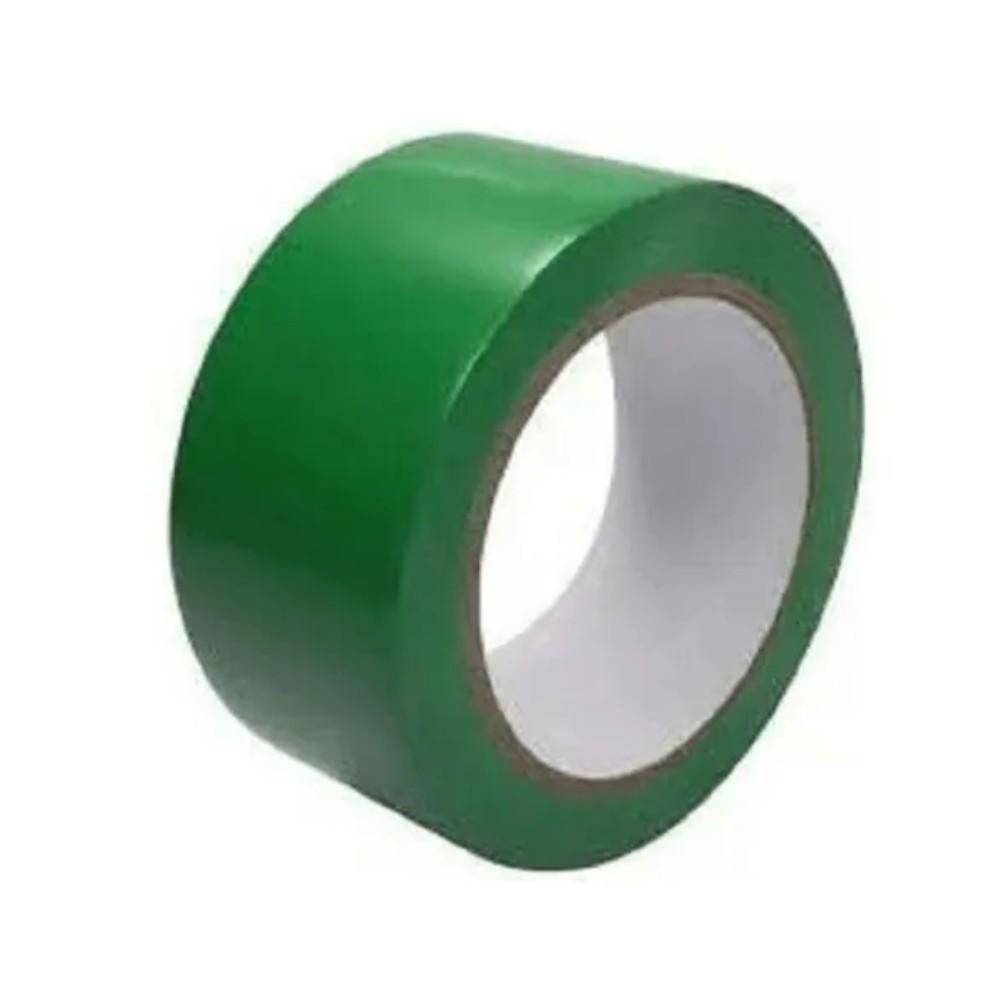 Fita de PVC para Demarcação de Solo Amazon Tape 70mm x 30m - Verde  - Casa do Roadie