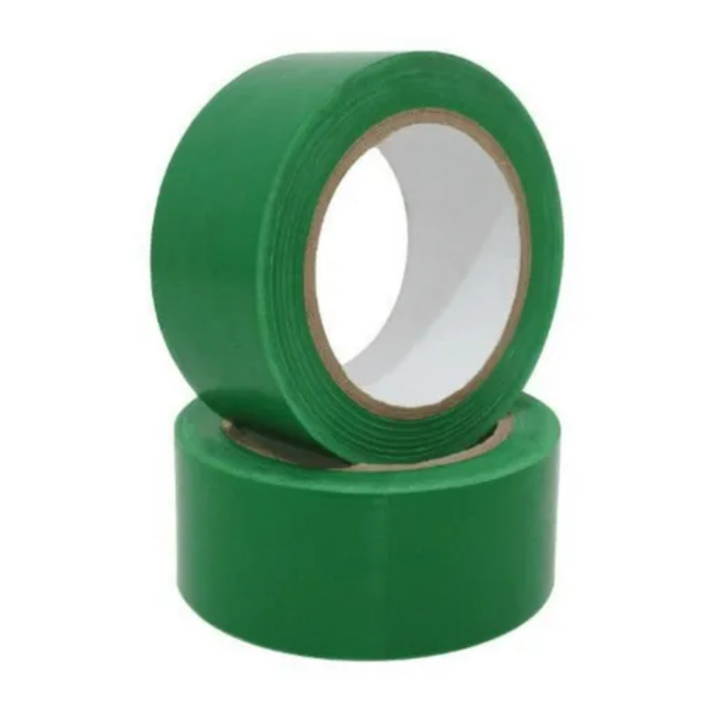 Fita de PVC para Demarcação de Solo Casa do Roadie 70mm x 30m - Verde