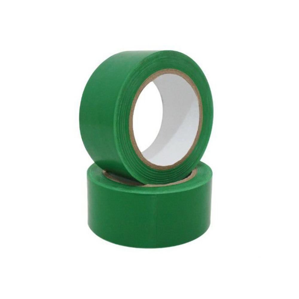 Fita de PVC para Demarcação de Solo Tectape 48mm X 30m Verde  - Casa do Roadie