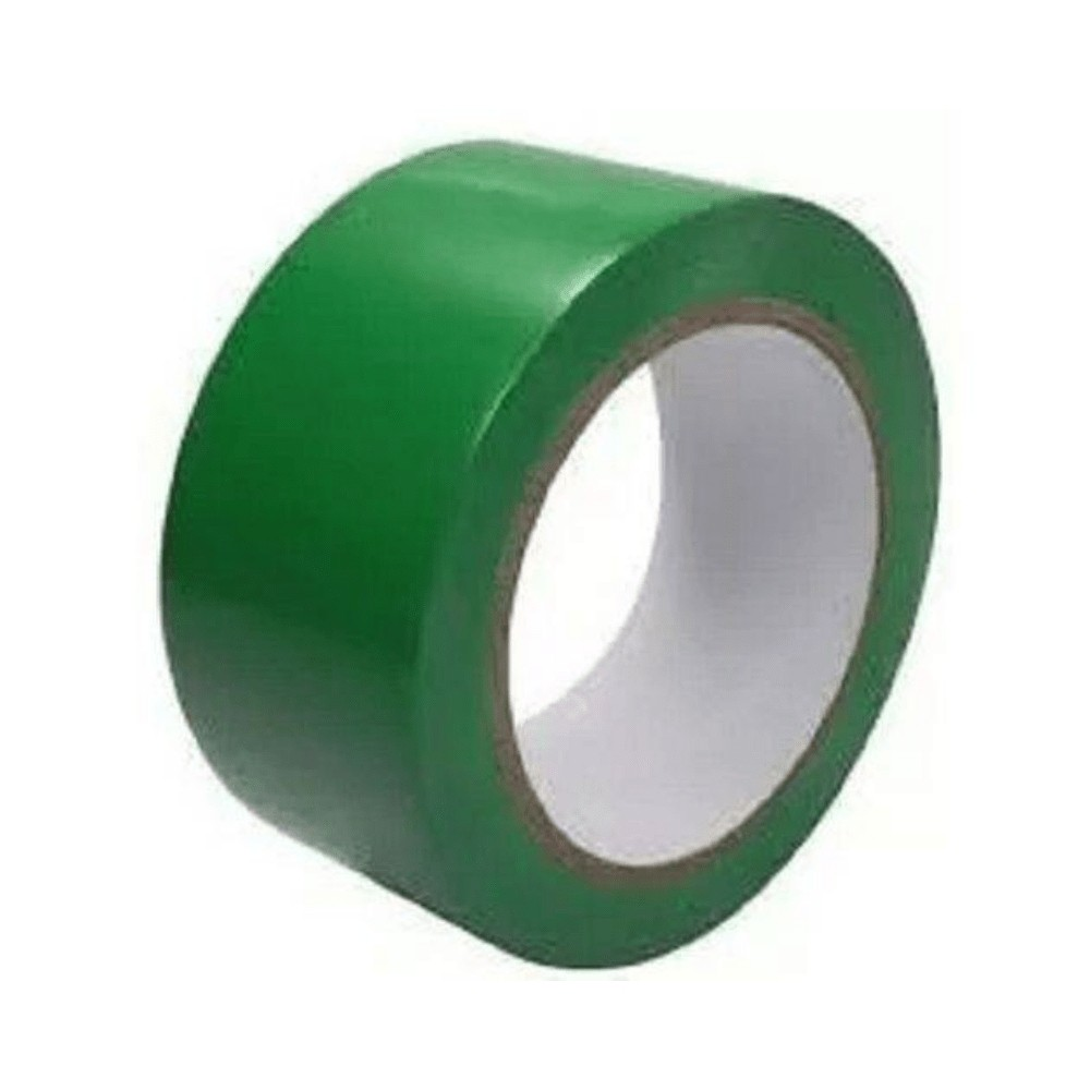 Fita de PVC para Demarcação de Solo THR 48mm X 30m Verde  - Casa do Roadie