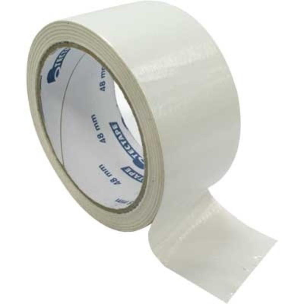 Fita de PVC Silver Tape Multiuso Tectape 38mm X 5m Branca