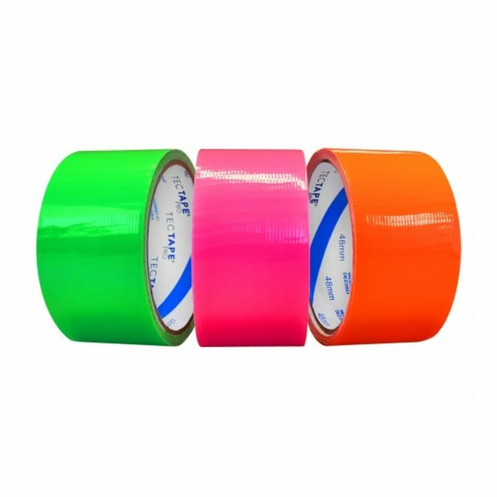 Fita de PVC Silver Tape Multiuso Tectape 48mm X 10m Amarela Neon  - Casa do Roadie