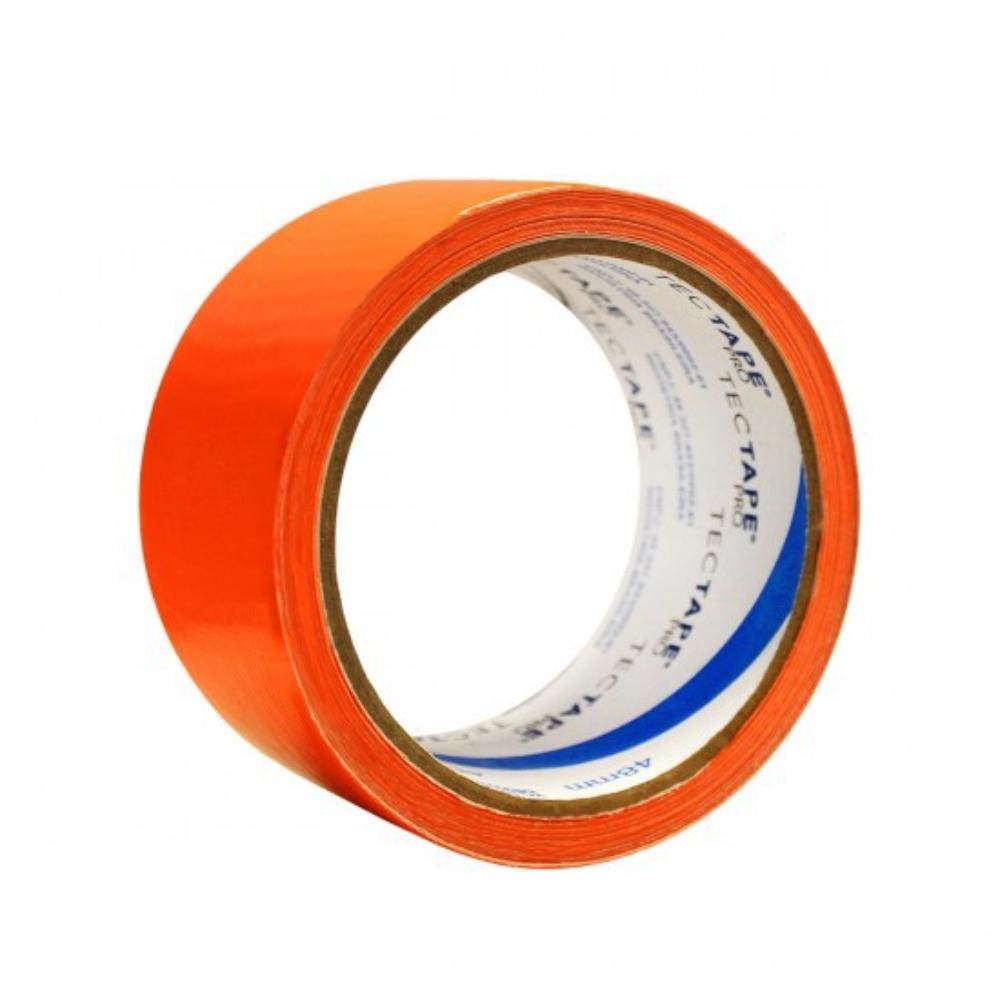 Fita de PVC Silver Tape Multiuso Tectape 48mm X 10m Laranja Neon  - Casa do Roadie