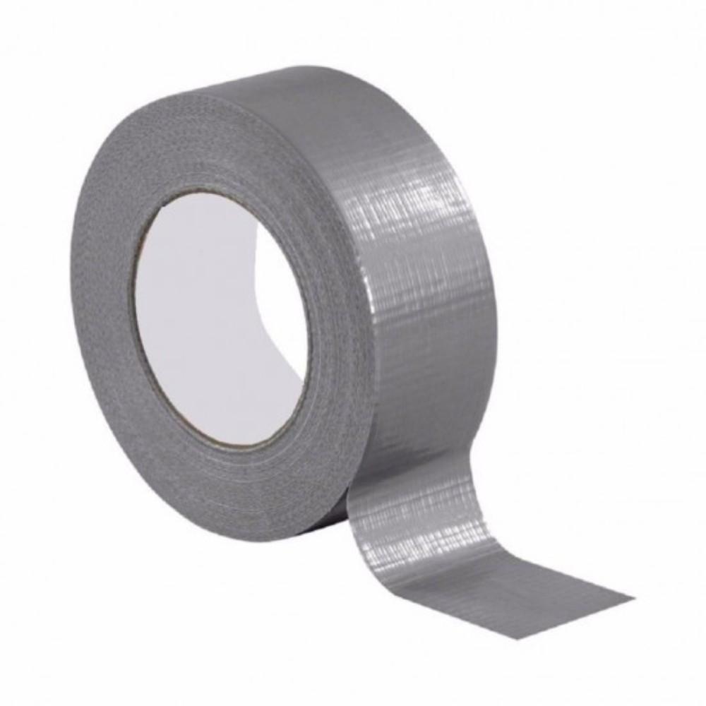 Fita de PVC Silver Tape Multiuso Tectape 48mm X 50m Cinza 717 PLUS  - Casa do Roadie