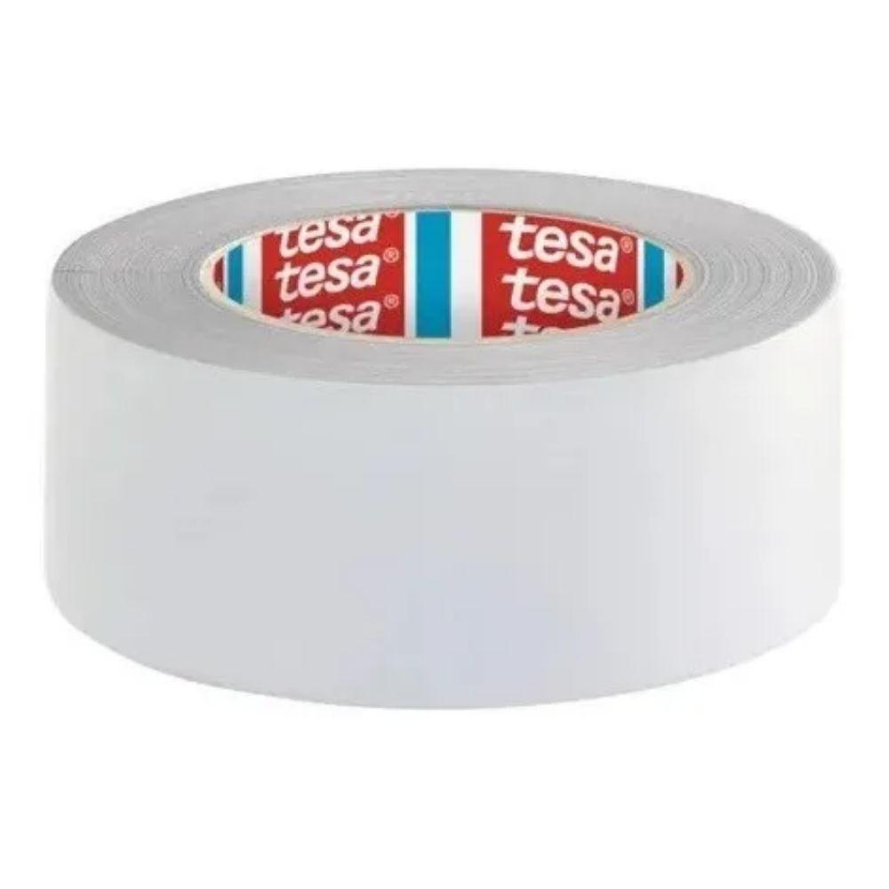Fita de PVC Silver Tape Multiuso Tesa 48mm X 50m Branca  - Casa do Roadie