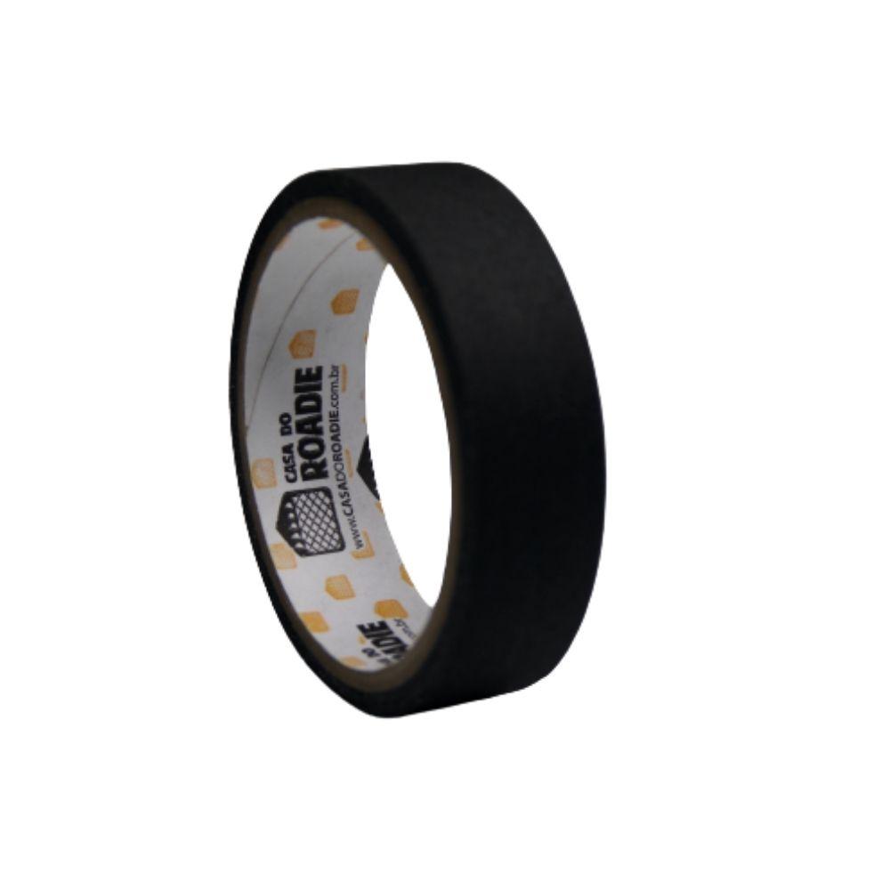 Fita de Tecido Gaffer Tape Casa do Roadie 24mm X 5m Preta  - Casa do Roadie