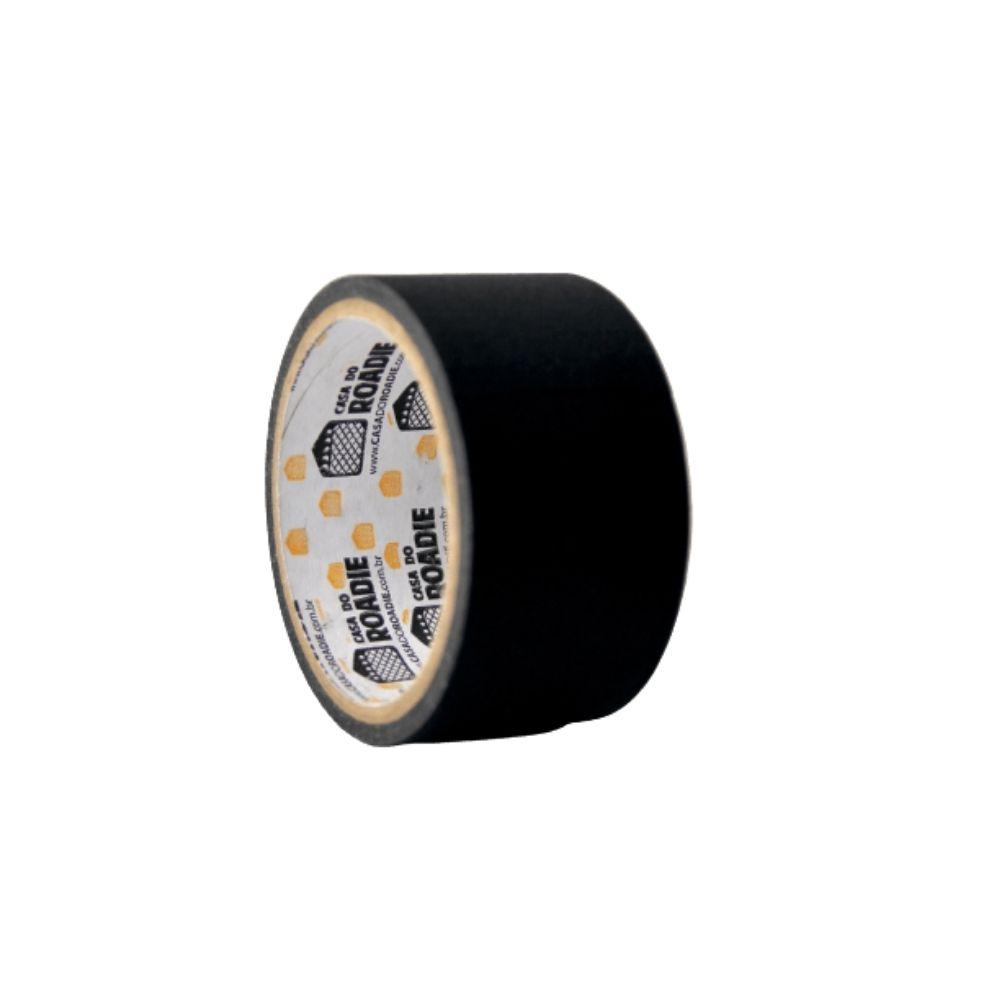 Fita de Tecido Gaffer Tape Casa do Roadie 48mm X 5m Preta