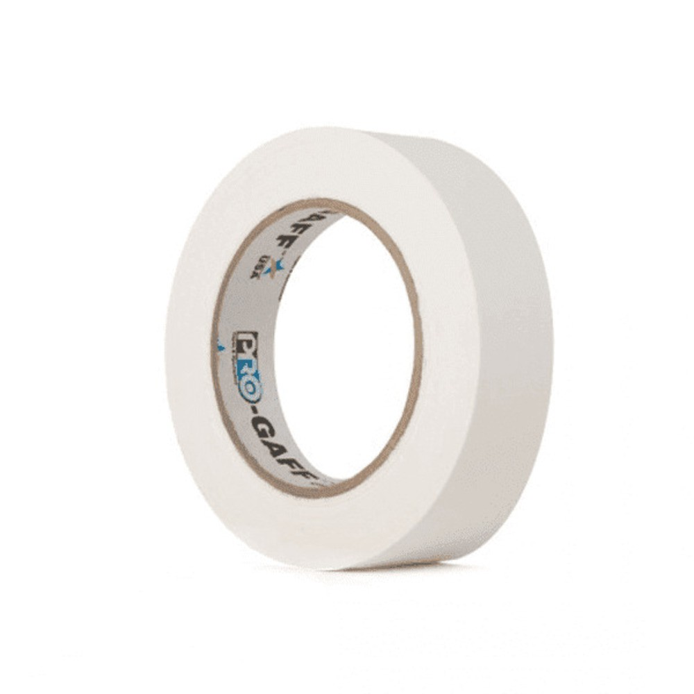 Fita de Tecido Gaffer Tape Pro Gaff Pro Tapes 24mm X 25m Branca
