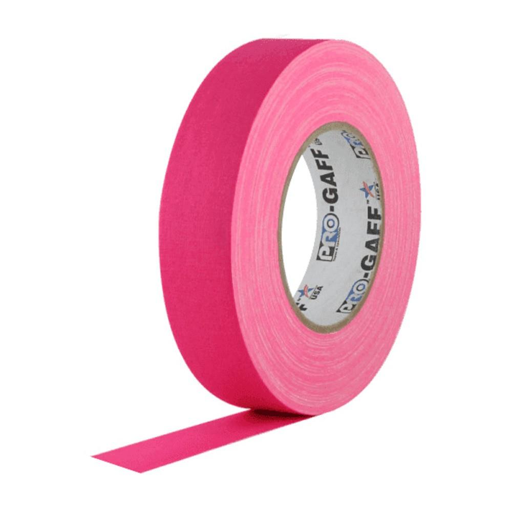 Fita de Tecido Gaffer Tape Pro Gaff Pro Tapes 24mm X 25m Rosa Fluor