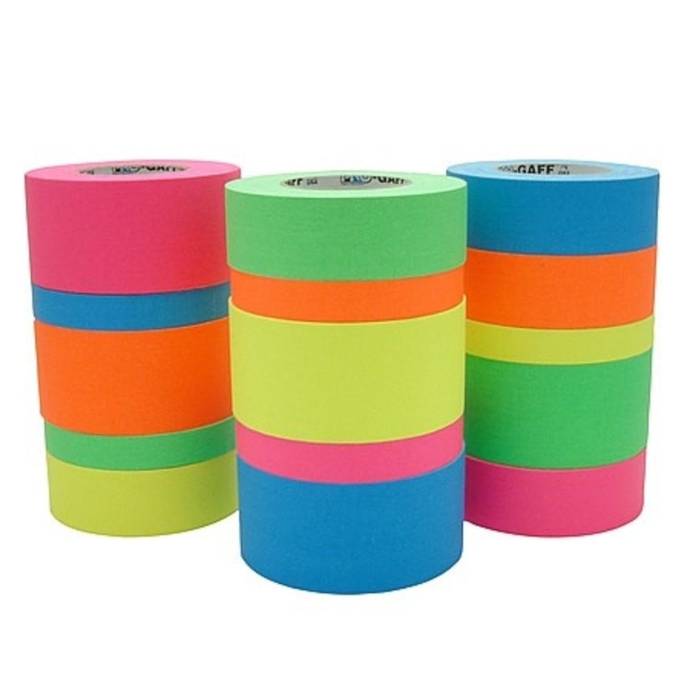 Fita de Tecido Gaffer Tape Pro Gaff Pro Tapes 24mm X 25m Rosa Fluor  - Casa do Roadie