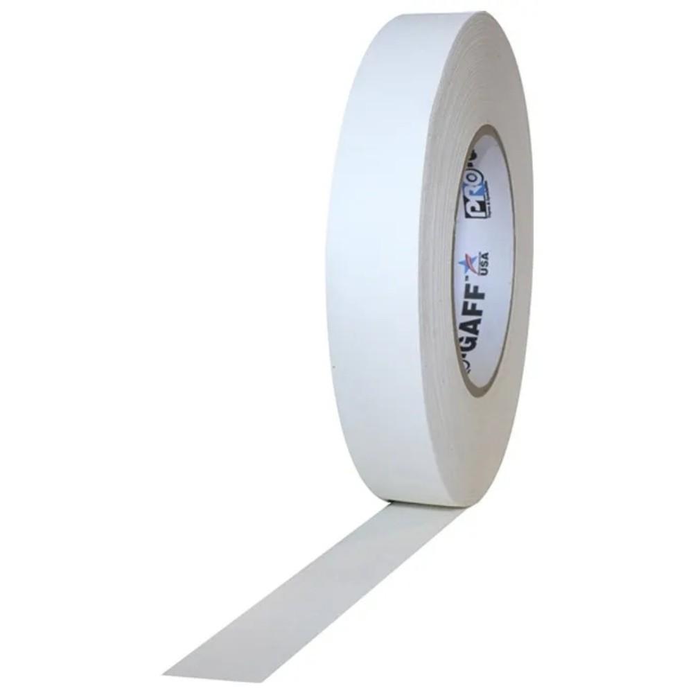 Fita de Tecido Gaffer Tape Pro Gaff Pro Tapes 24mm X 50m Branca