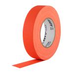 Fita de Tecido Gaffer Tape Pro Gaff Pro Tapes 24mm X 50m Laranja Fluor