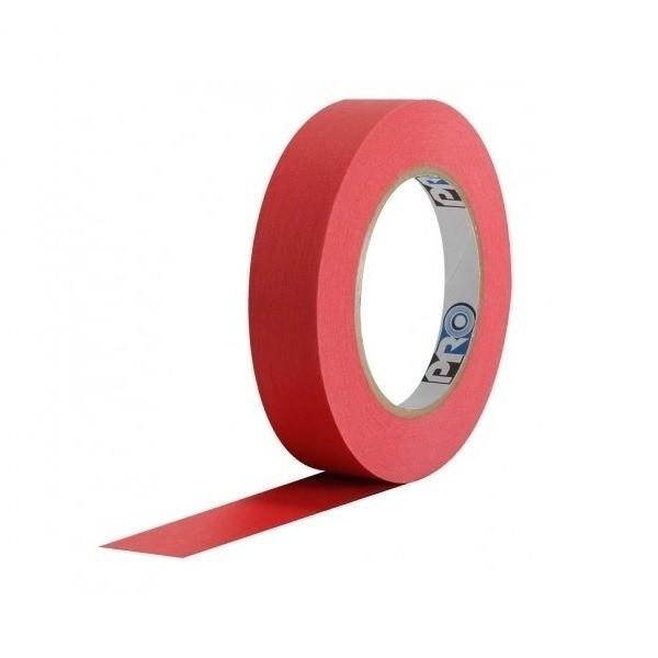 Fita de Tecido Gaffer Tape Pro Gaff Pro Tapes 24mm X 50m Vermelha  - Casa do Roadie