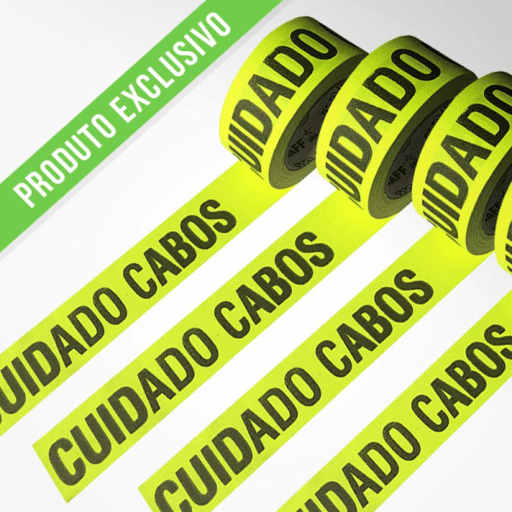 Fita de Tecido Gaffer Tape Pro Gaff Pro Tapes 48mm X 25m Cuidado Cabos Amarela  - Casa do Roadie
