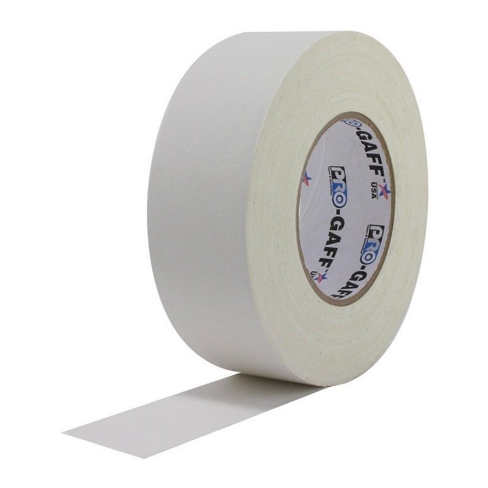 Fita de Tecido Gaffer Tape Pro Gaff Pro Tapes 48mm X 50m Branca