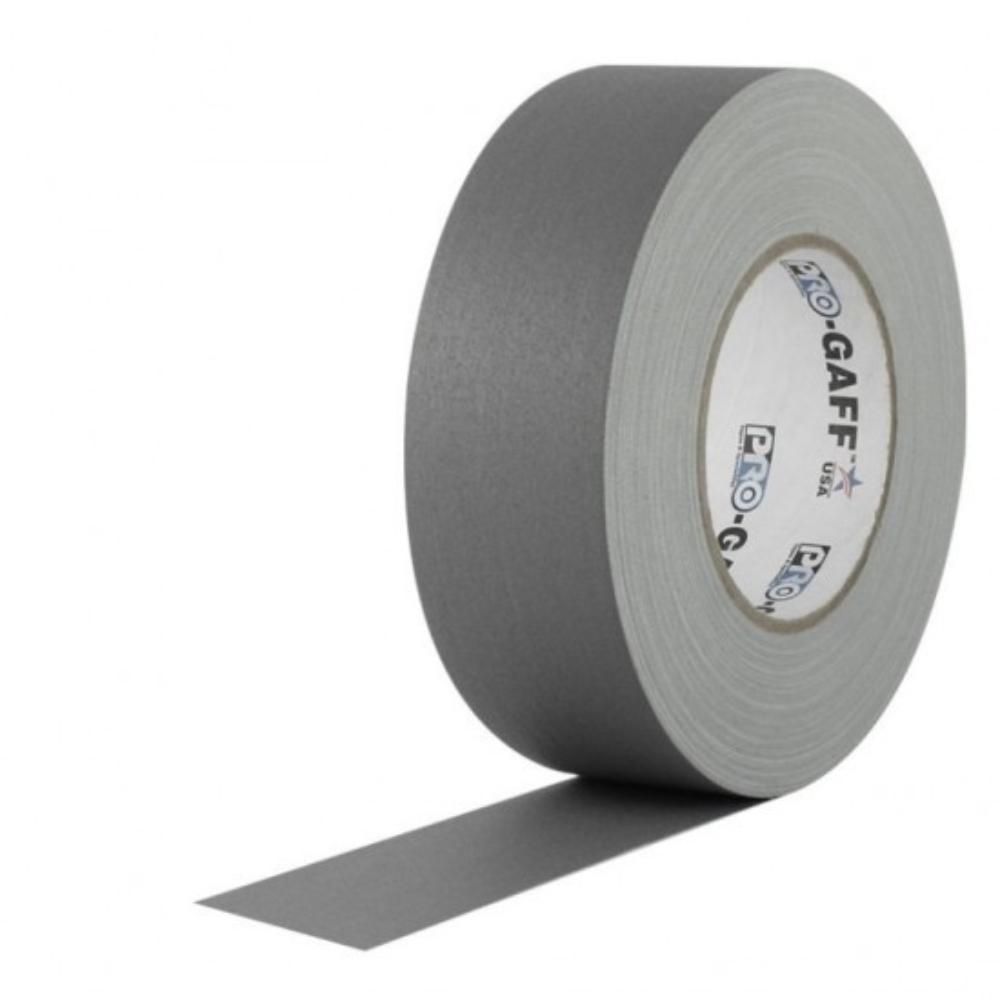 Fita de Tecido Gaffer Tape Pro Gaff Pro Tapes 48mm X 50m Cinza  - Casa do Roadie