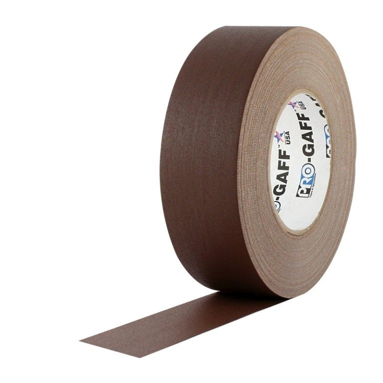 Fita de Tecido Gaffer Tape Pro Gaff Pro Tapes 48mm X 50m Marrom  - Casa do Roadie