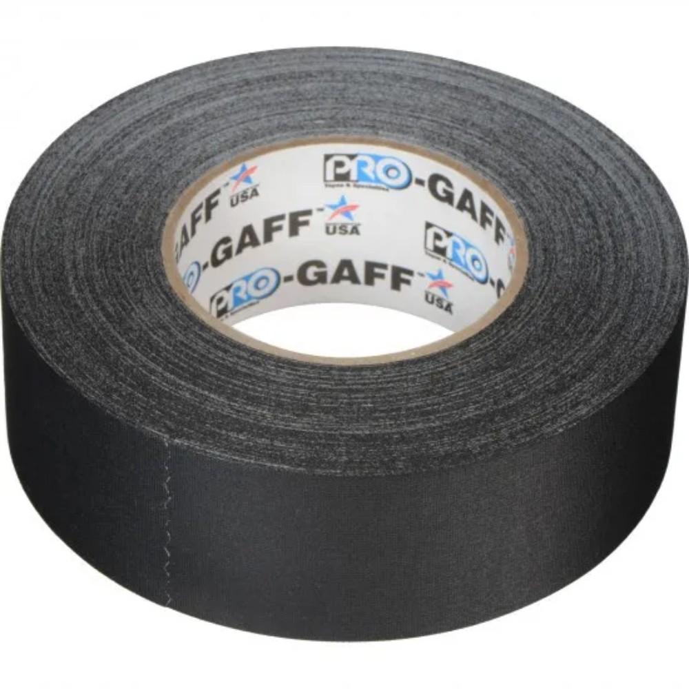 Fita de Tecido Gaffer Tape Pro Gaff Pro Tapes 48mm X 50m Preta  - Casa do Roadie