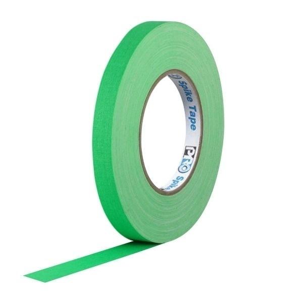 Fita de Tecido Pro Spike Pro Tapes 13mm X 50 Verde Fluor