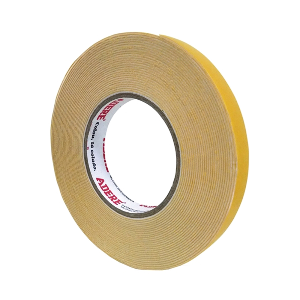 Fita Dupla Face de Espuma Tapefix Adere 19mm x 10m