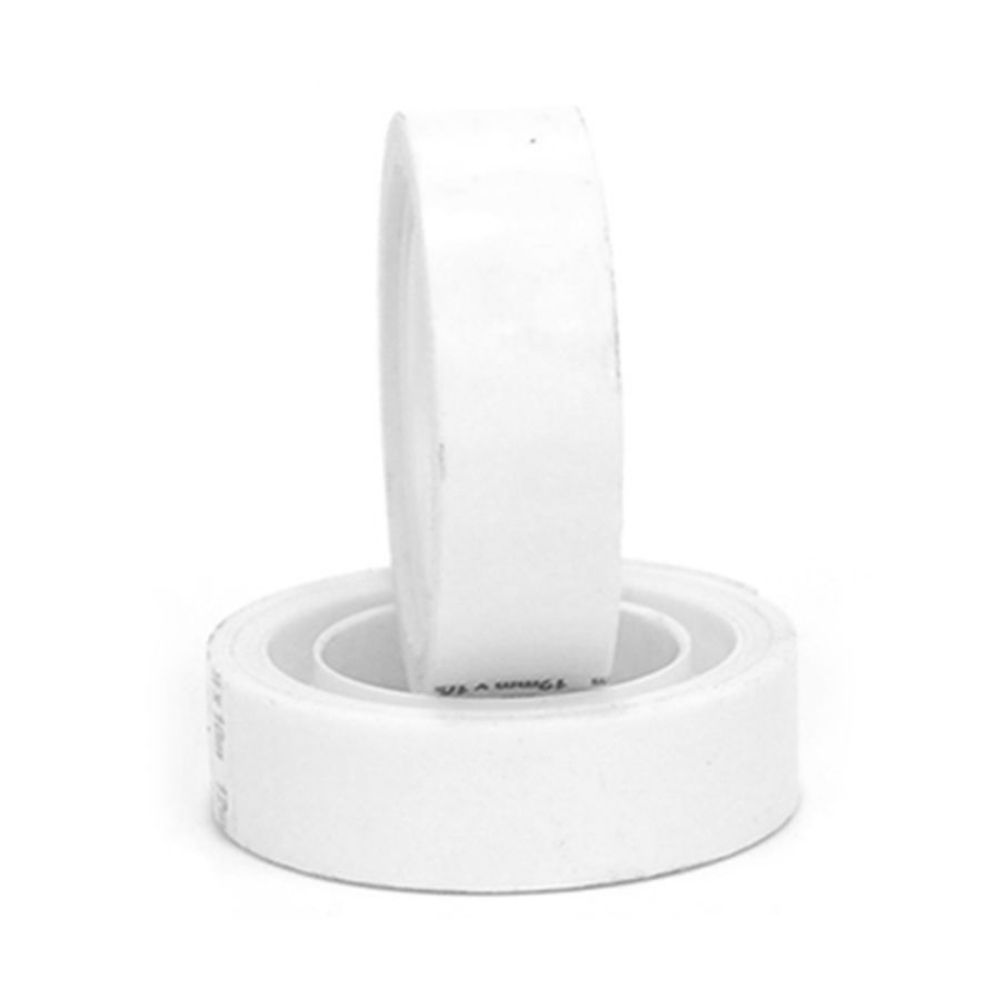 Fita Plástica Adesiva Colorida Adere 12mm x 10m Branca  - Casa do Roadie