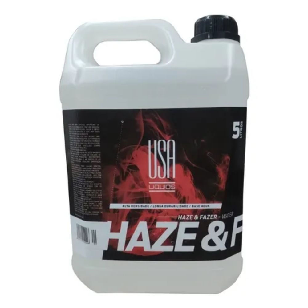 Fluido para Máquina de Fumaça Haze Free Oil USA Liquids 5 litros