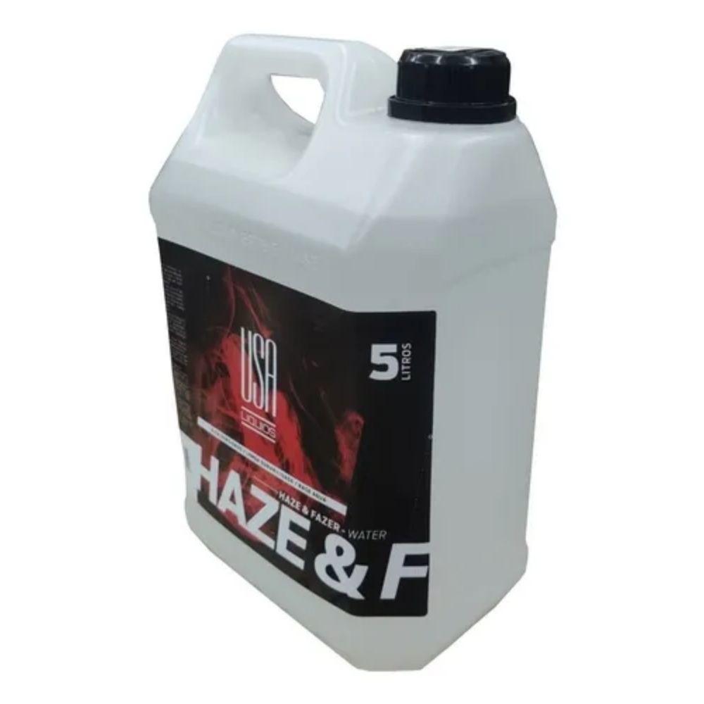 Fluido para Máquina de Fumaça Haze Free Oil USA Liquids 5 litros  - Casa do Roadie
