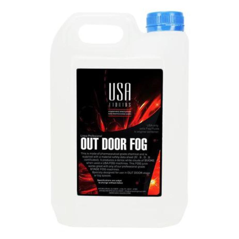 Fluido para Máquina de Fumaça Out Door USA Liquids 5 litros