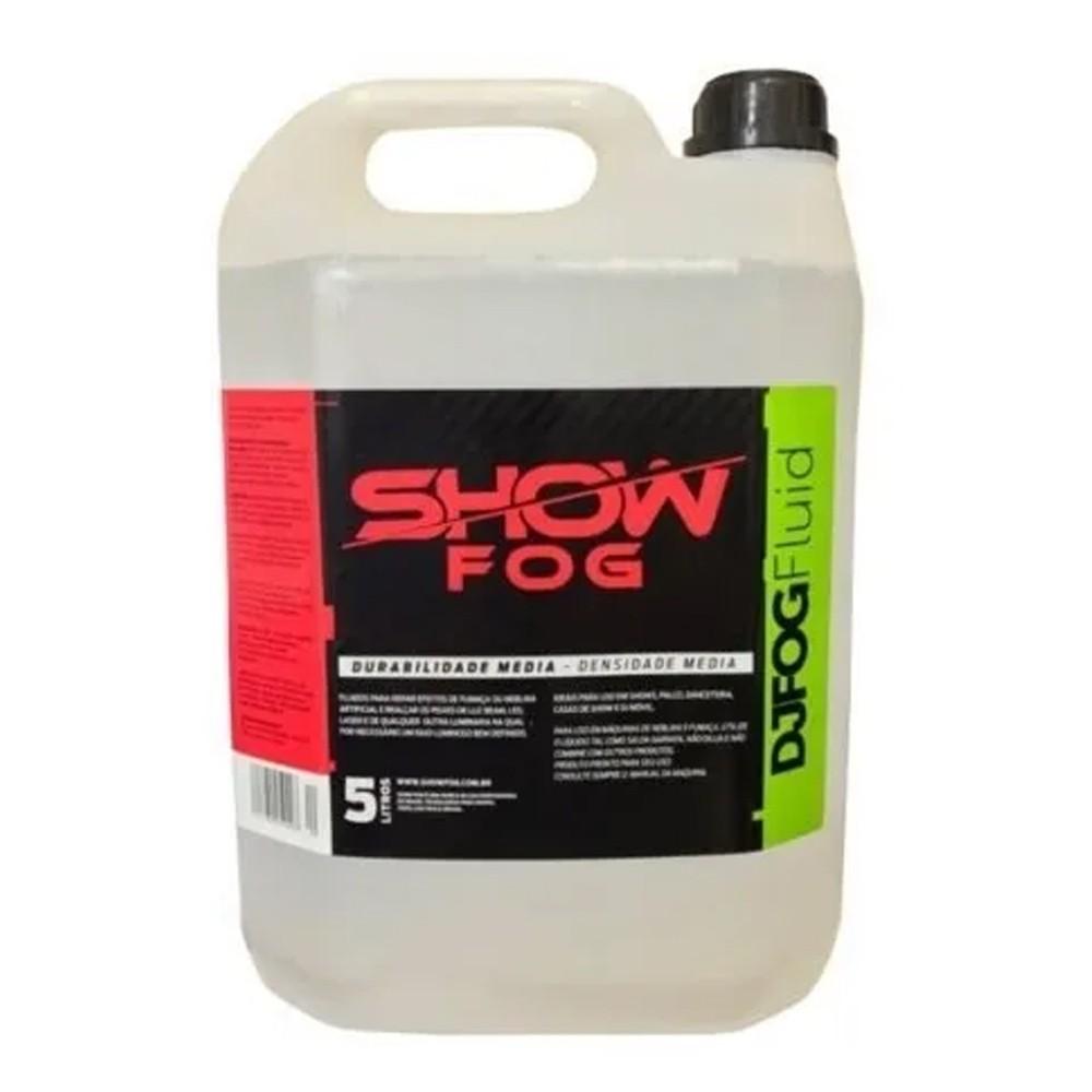 Fluido para Máquina de Fumaça Show Fog DjFog USA Liquids 5 litros
