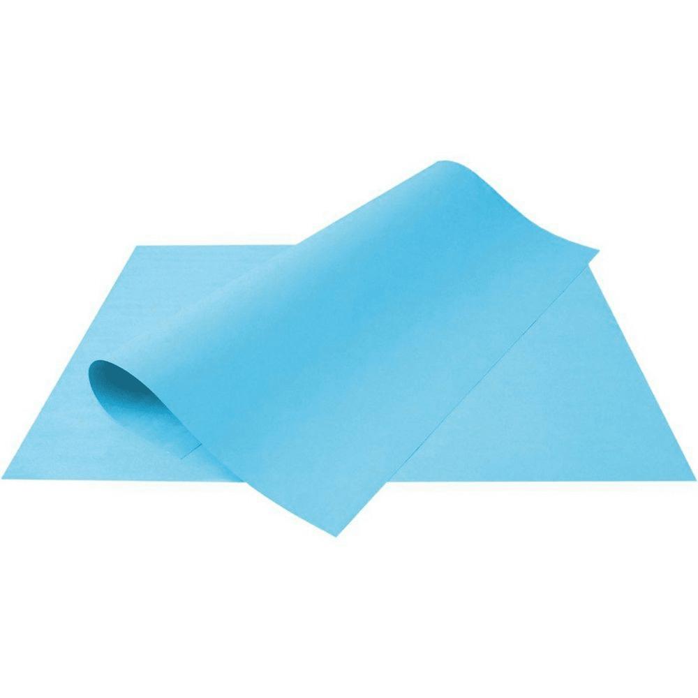 Folha de Cartolina Azul 50cm X 66cm
