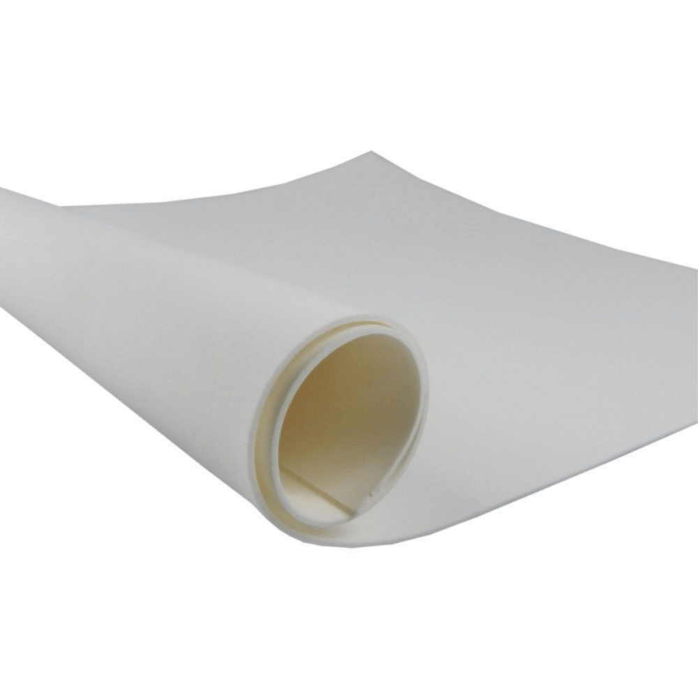 Folha EVA 40 X 60cm Branco  - Casa do Roadie