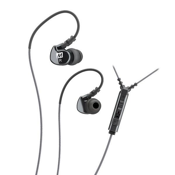 Fone de Ouvido Intra Auricular com Microfone M6 MEE Black  - Casa do Roadie