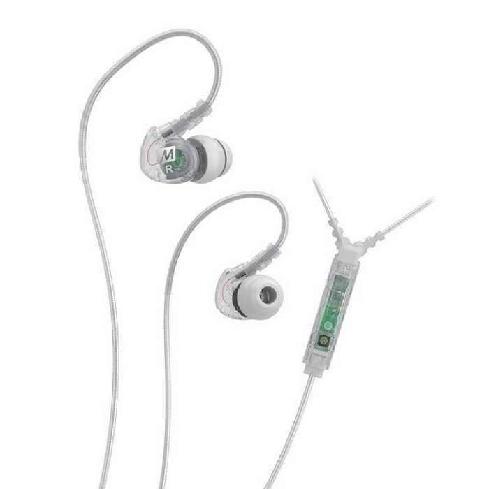 Fone de Ouvido Intra Auricular com Microfone M6 MEE Clear