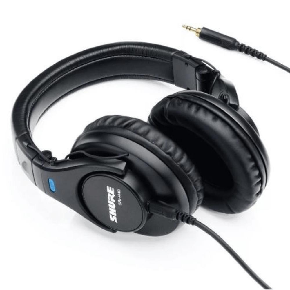 Fone Headphone SRH440 Shure Preto  - Casa do Roadie