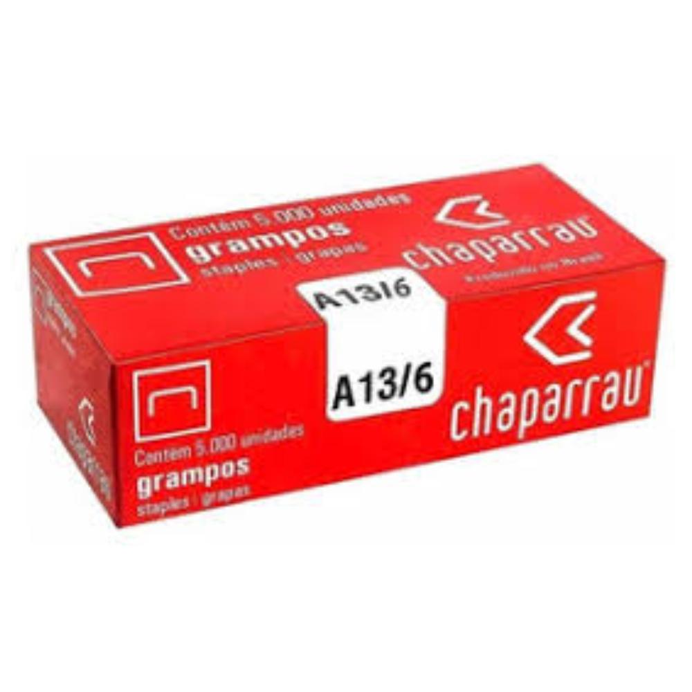 Grampo RAPID 13/6mm - Caixa com 5.024 unidades  - Casa do Roadie