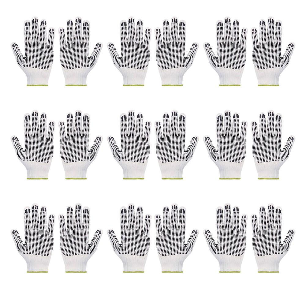 Kit Luva Tricotada Pigmentada Volk Branca - 10 Unidades