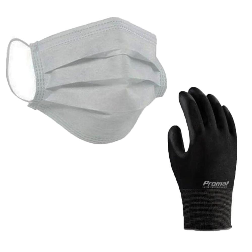 Kit Proteção Básica - Luva e Máscaras