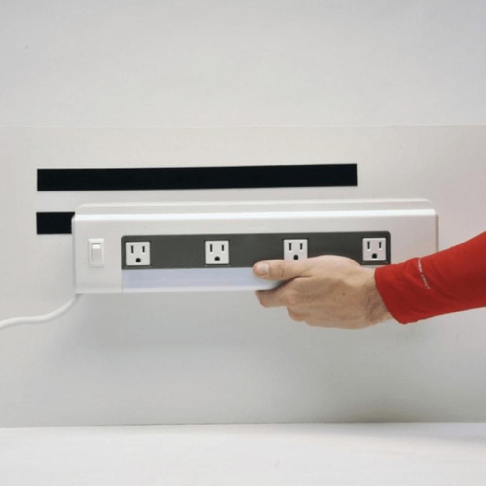 Kit Tira de Contato Adesivo Velfix 25mm X 1m Preta - Macho e Fêmea  - Casa do Roadie