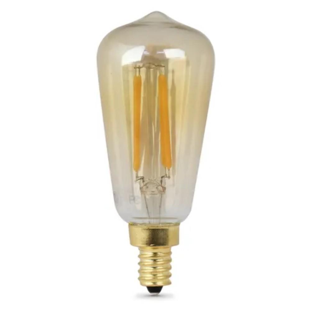 Lâmpada Pera Filamento LED 4w 2700k 110V 15cm