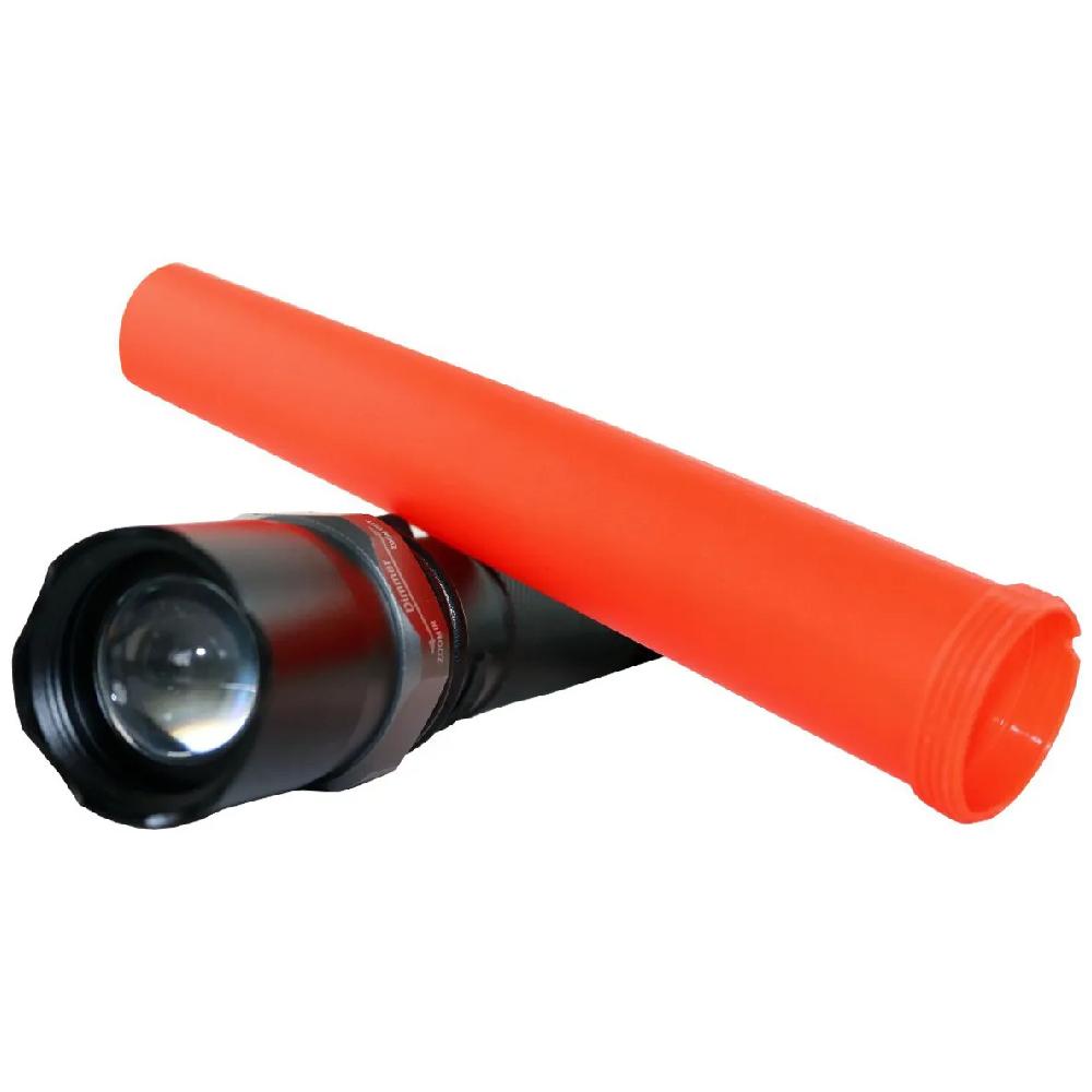 Lanterna LED Tática Pilha com Sinalizador  - Casa do Roadie