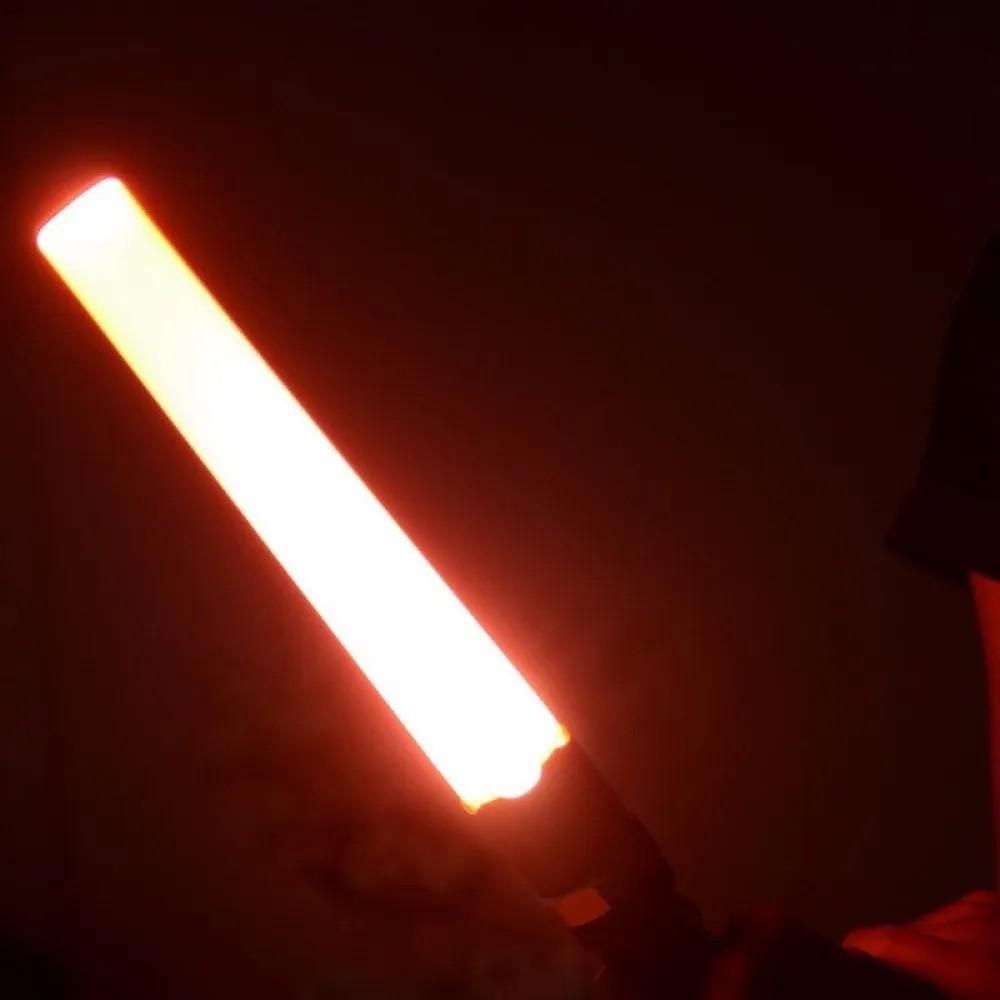 Lanterna LED Tática Pilha com Sinalizador