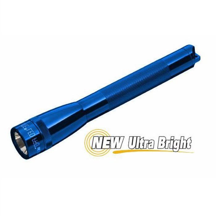 Lanterna Maglite Pro LED 272 LM com Case para Cinto Azul  - Casa do Roadie