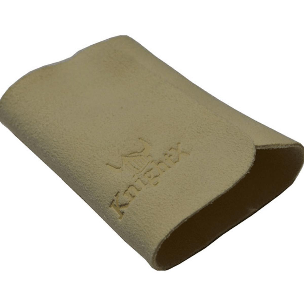 Lenço de Couro sintético Chamois Bege KnightX Bege