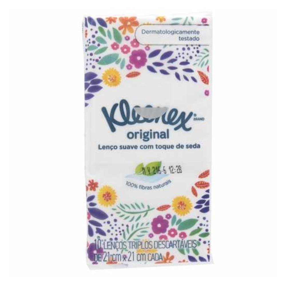 Lenços de Papel Kleenex Bolso Suave - 10 Folhas